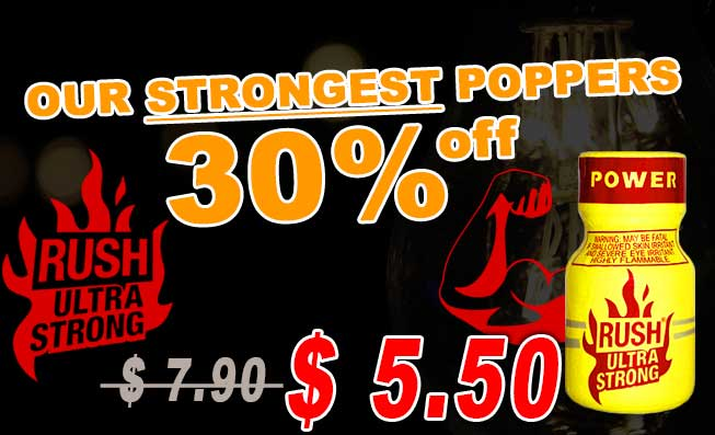 Rush Ultra strong Poppers 30% off