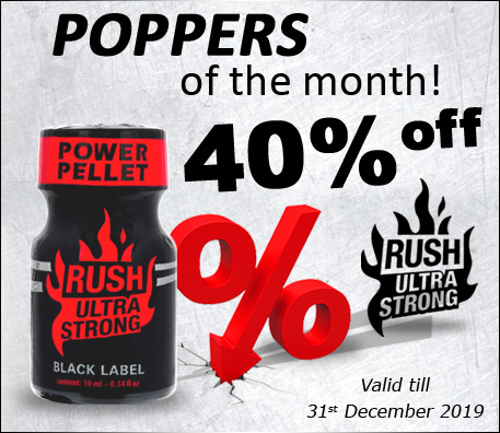 Poppers of the month!
