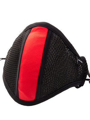 Barcode Berlin - Face Mask with Filter - Black/red
