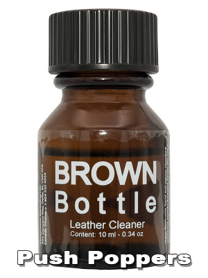 FREE - BROWN BOTTLE LEATHER CLEANER