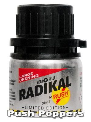 RADIKAL RUSH big alu bottle Ltd Edition