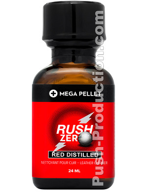 Rush Zero Poppers - Red Distilled
