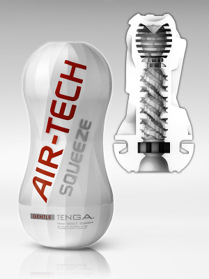 Tenga - Air-Tech Squeeze Reusable Vacuum Cup - Gentle