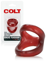 Cock Ring - COLT Snug Tugger - Red