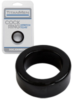 Cock Ring - Titanmen - Black