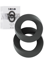 Cockring Set grey - SONO No.24