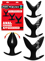 Push Monster - Premium Silicone Anal Expander Kit