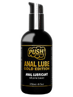 Silicone-Based Anal Lubricant - Push Gold Lube