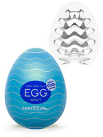 Tenga - Egg Wavy - Cool Edition